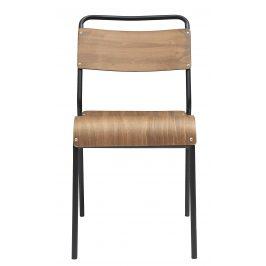 House Doctor Přírodní dřevěná jídelní židle Original