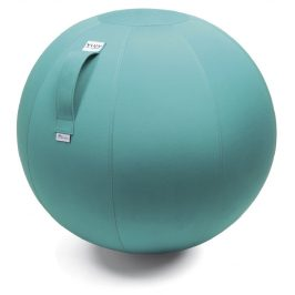 Světle modrý exteriérový sedací / gymnastický míč  VLUV AQVA Ø 65