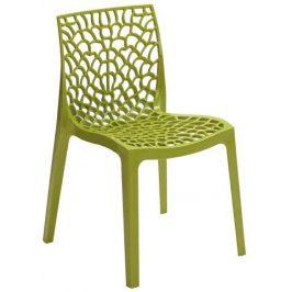 SitBe Zelená jídelní židle Coral-C