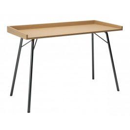 Přírodní dubový pracovní stůl Woodman Rayburn 115x52 cm