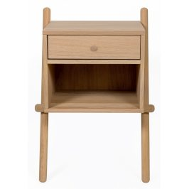 Přírodní dubový noční stolek Woodman Wiru