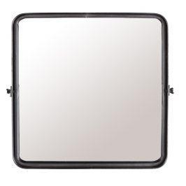 Černé závěsné zrcadlo DUTCHBONE Poke M