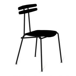 Černá dřevěná židle Tabanda Trojka All black II.