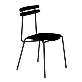 Černá dřevěná židle Tabanda Trojka All black III.