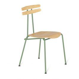 Mintová dřevěná židle Tabanda Trojka II.