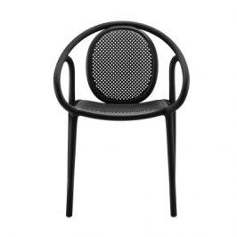 Pedrali Černá plastová jídelní židle Remind 3735