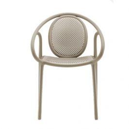 Pedrali Krémová plastová jídelní židle Remind 3735