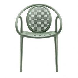 Pedrali Zelená plastová jídelní židle Remind 3735