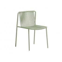 Pedrali Zelená kovová zahradní židle Tribeca 3660