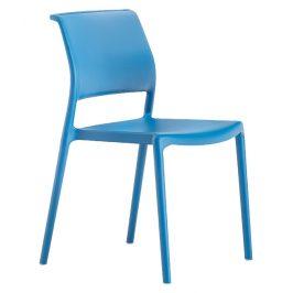 Pedrali Modrá plastová židle Ara 310