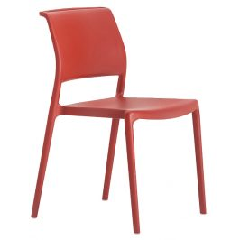 Pedrali Červená plastová židle Ara 310