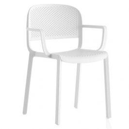 Pedrali Bílá plastová židle Dome 266