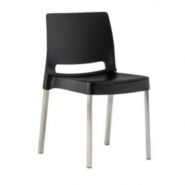 Pedrali Černá plastová židle Joi 870