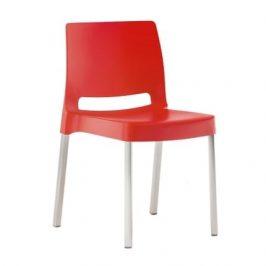 Pedrali Červená plastová židle Joi 870