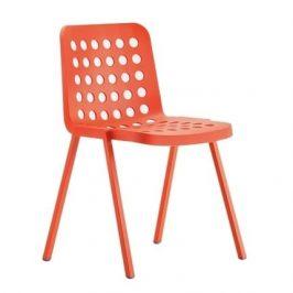 Pedrali Červená plastová židle Koi-Booki 370