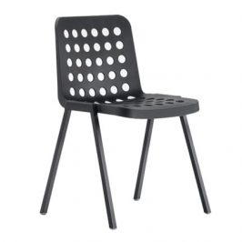 Pedrali Černá plastová židle Koi-Booki 370