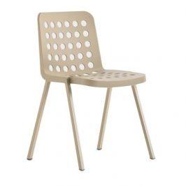 Pedrali Krémová plastová židle Koi-Booki 370