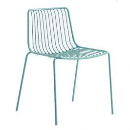 Pedrali Tyrkysová kovová židle Nolita 3650