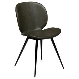 DAN-FORM Zelená vintage židle DanForm Cloud