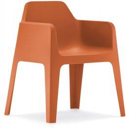 Pedrali Cihlová plastová židle Plus 630