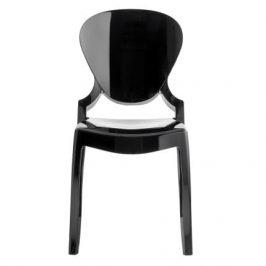 Pedrali Černá plastová židle Queen 650