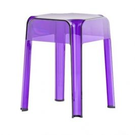 Pedrali Fialová plastová stolička Rubik 583
