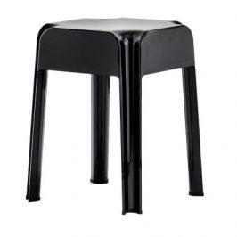 Pedrali Černá plastová stolička Rubik 583