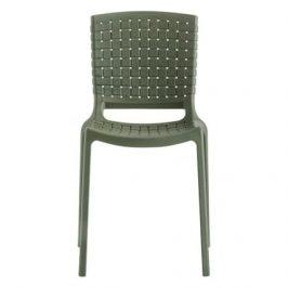 Pedrali Zelená plastová židle Tatami 305