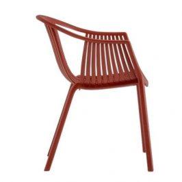 Pedrali Červená plastová židle Tatami 306