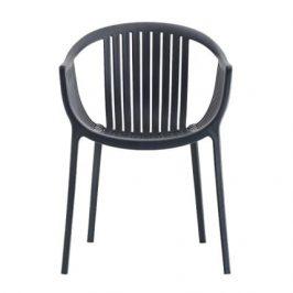 Pedrali Šedá plastová židle Tatami 306
