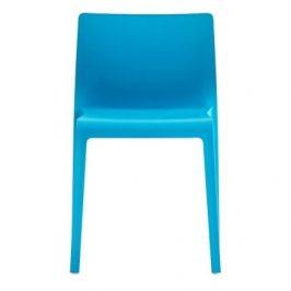 Pedrali Zářivě modrá plastová židle Volt 670