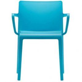 Pedrali Zářivě modrá plastová židle Volt 675