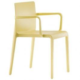 Pedrali Žlutá plastová židle Volt 675