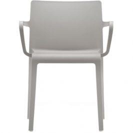 Pedrali Šedá plastová židle Volt 675