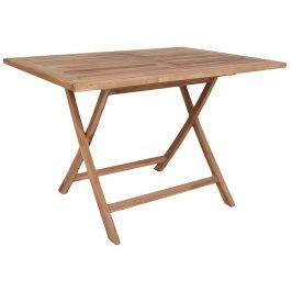 Nordic Living Dřevěný přírodní jídelní stůl Oviedo 120 cm