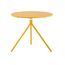 Pedrali Žlutý kovový stůl Nolita 5453 60 cm
