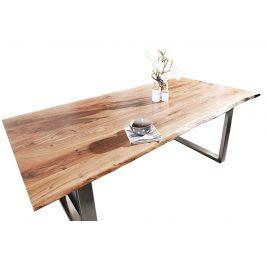 Moebel Living Masivní jídelní stůl Holz U 180x90 cm