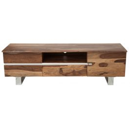 Moebel Living Masivní dřevěný televizní stolek Mammut 160x45 cm
