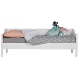 Hoorns Bílá postel Warde II. 90x200 cm