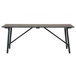 Hoorns Přírodní borovicový jídelní stůl Deborah 220 x 90 cm