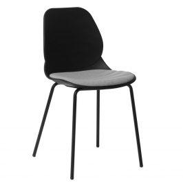 Culty Černá kovová jídelní židle Malia