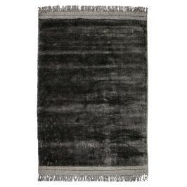 Hoorns Antracitově šedý sametový koberec Lord 170 x 240 cm