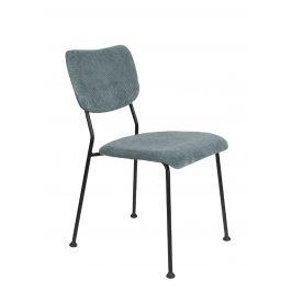 Šedá čalouněná židle ZUIVER BENSON