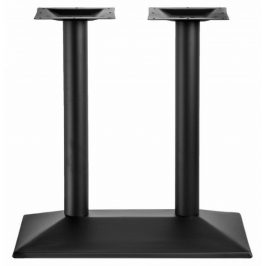 LIFE BASE Černá dvojitá stolová podnož 38 x 70 x 72 cm