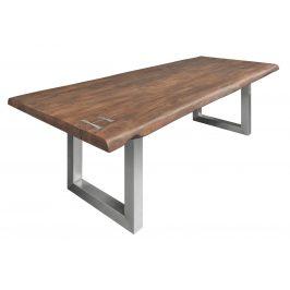 Moebel Living Masivní akátový jídelní stůl Holz III 240x100 cm
