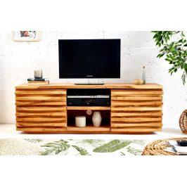 Moebel Living Masivní akátový TV stolek Matis 150 cm