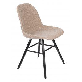 Béžová čalouněná jídelní židle ZUIVER ALBERT KUIP