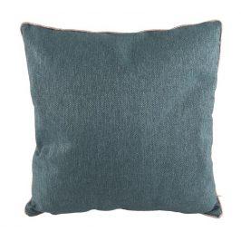 Time for home Modro šedý čtvercový polštář Blend