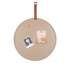 Time for home Pískově hnědá magnetická nástěnka Dalia 50 cm