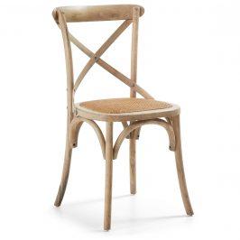 Přírodní dřevěná jídelní židle LaForma Silea